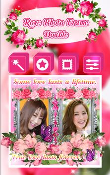 Rose Photo Frame Double screenshot 2