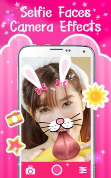Selfie Faces Camera Effects apk screenshot
