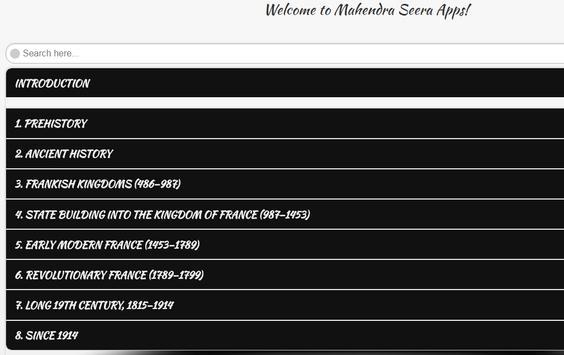 History of France screenshot 2