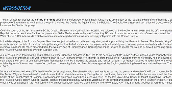 History of France screenshot 3