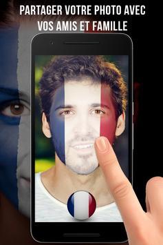 France Drapeau Visage Profile screenshot 2