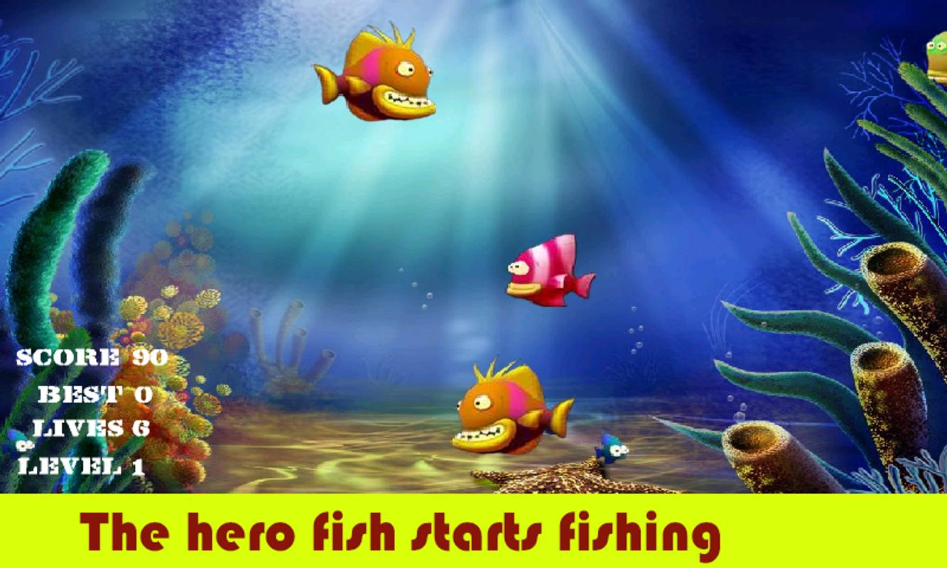 Frenzy hungry fish apk download free casual game for for Hungry fish game