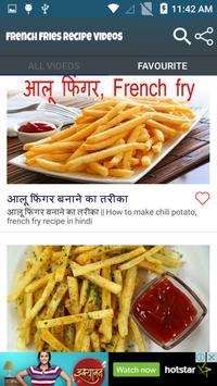 French fries recipe videos apk download free entertainment app for french fries recipe videos apk screenshot forumfinder Images