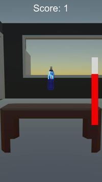 Water Bottle Flip 3D 2016 apk screenshot
