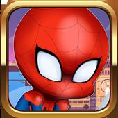 Super SPider World Sandy Man Free Game icon
