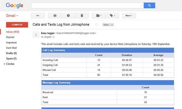 Free Phone Tracker - Monitor calls, texts & more poster