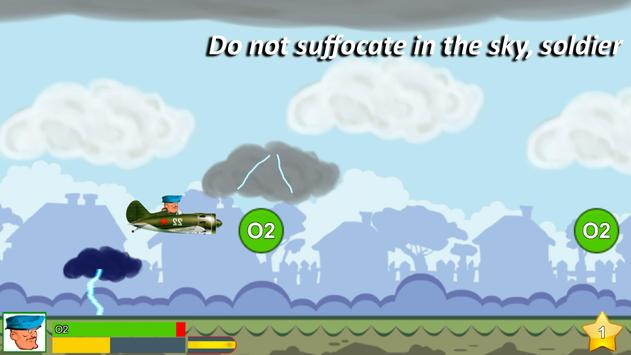 Soldier in Аirplane apk screenshot