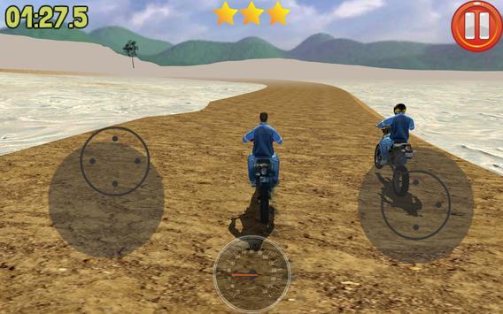 Motocross Racing 3D screenshot 1