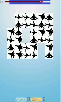 Free Planes Matching Games poster