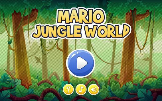 Super Mario Jungle World poster