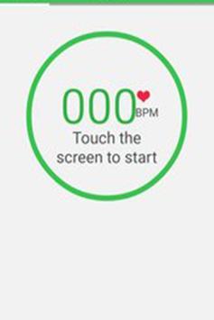 iCare Heart Rate Measurement screenshot 1