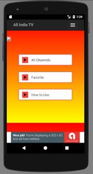Indian TV Live Channel List screenshot 1