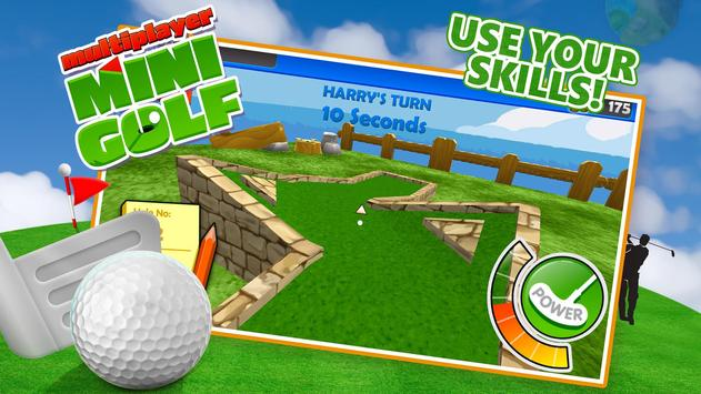 Multiplayer Mini Golf apk screenshot