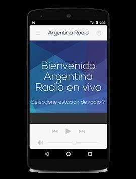 Argentina Radio poster