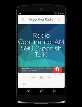 Argentina Radio screenshot 1