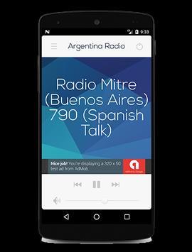 Argentina Radio screenshot 6