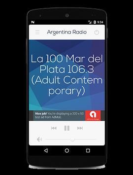 Argentina Radio screenshot 7