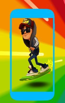 Free Subway Surfer Wallpaper screenshot 3