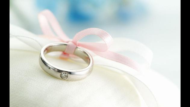 The Wedding Rings Wallpaper poster