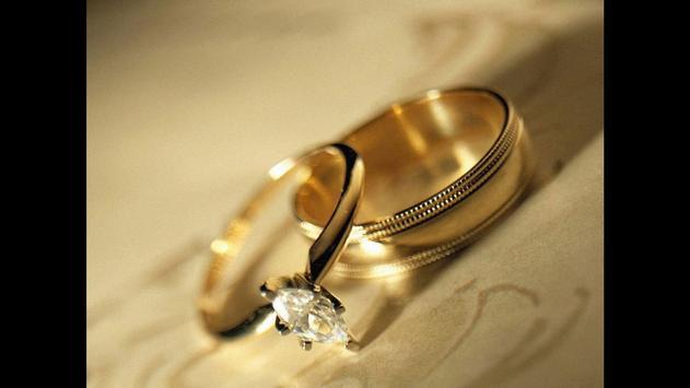 The Wedding Rings Wallpaper screenshot 2