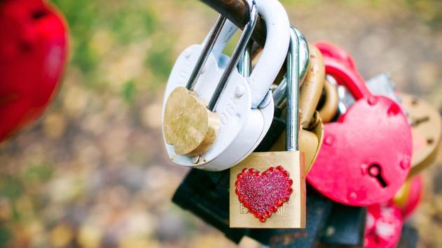 The Lock. Love Wallpapers screenshot 1