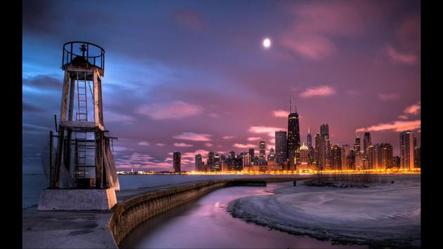 Chicago City Wallpapers poster