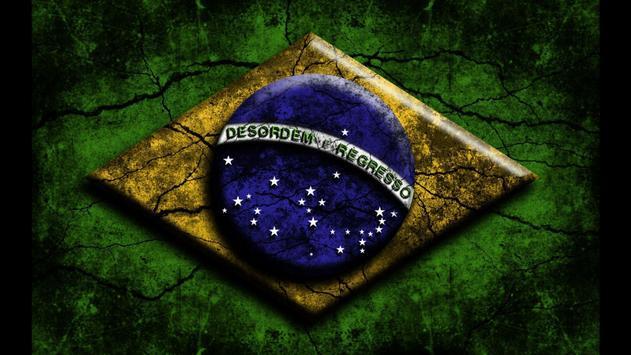 Brazil Flag. World Wallpapers poster