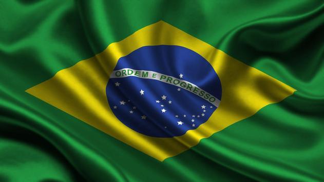 Brazil Flag. World Wallpapers apk screenshot