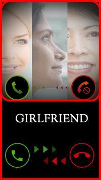 Fake Girlfriend Call apk screenshot