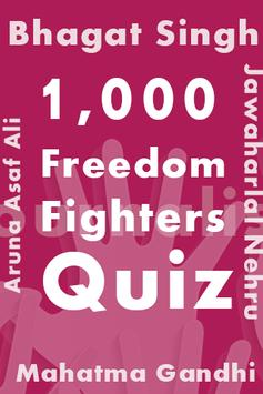 Freedom Fighters Quiz poster