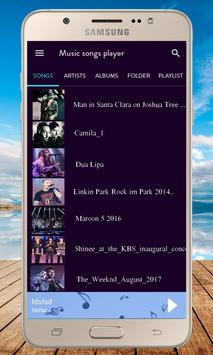 Music Songs Player screenshot 4