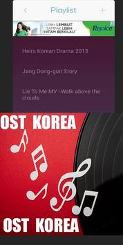 Korean Drama OST Songs apk screenshot