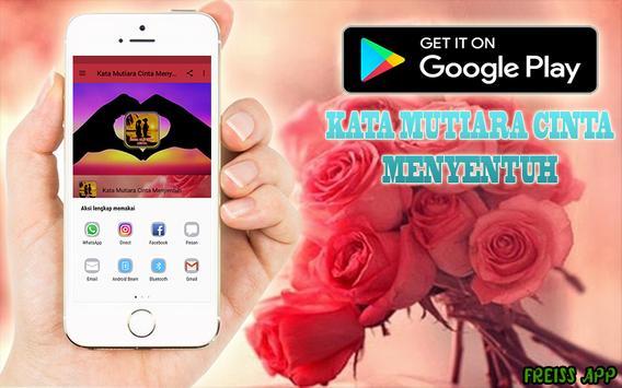 Kata Mutiara Cinta Menyentuh apk screenshot
