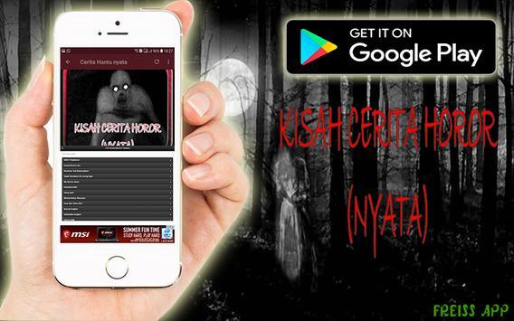 Kisah Cerita Horor (Nyata) apk screenshot
