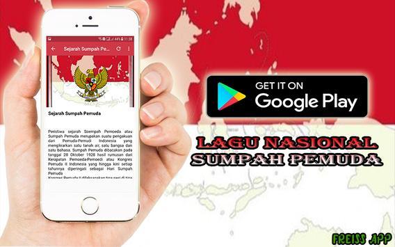 Lagu Nasional Sumpah Pemuda apk screenshot