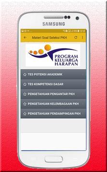 Materi Soal Seleksi PKH apk screenshot