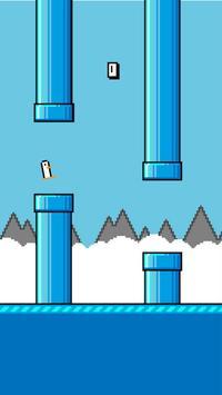 Flappy Retro Penguin apk screenshot