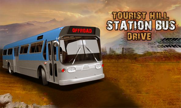 Tourist Hill Station Bus Drive poster
