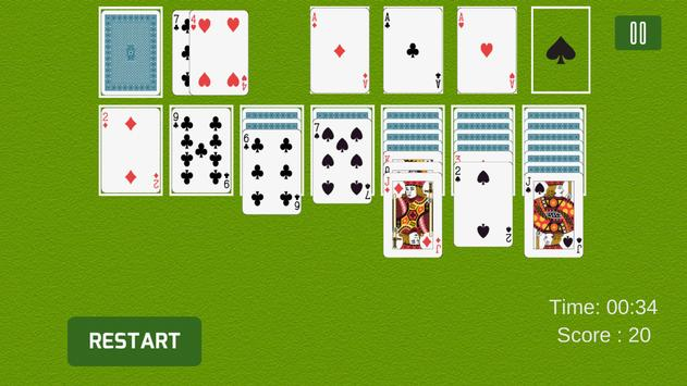 Solitaire Card Game Online apk screenshot