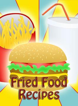 Fried Food Recipes apk screenshot