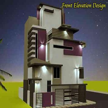 front elevation design poster