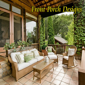 Front porch designs icon