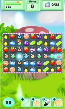 Fruit Splash Legend Match 3 screenshot 2