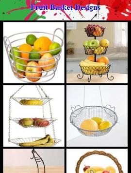 Fruit Basket Designs poster