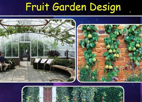 Fruit Garden Design poster