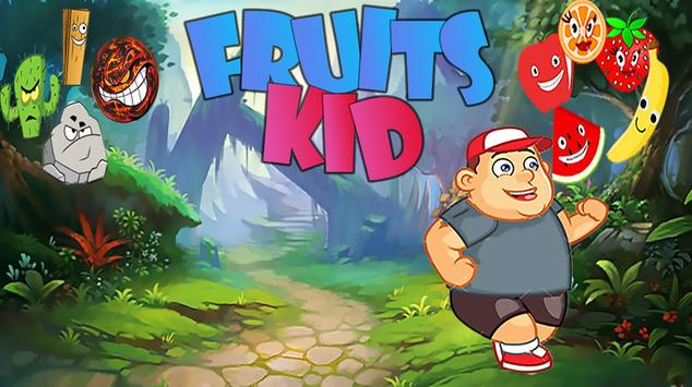 Fruits Kid poster