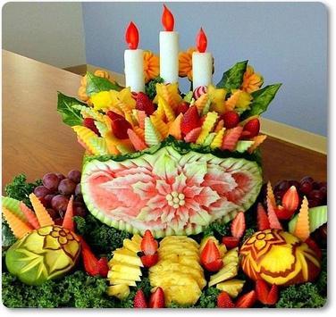 Fruit Vegetable Carving Arts screenshot 1