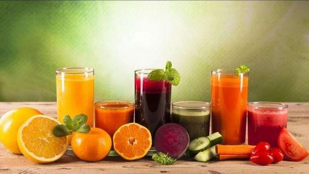 Fruit anf Juice Wallpaper HD screenshot 1