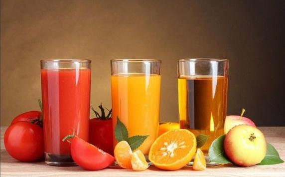 Fruit anf Juice Wallpaper HD screenshot 2