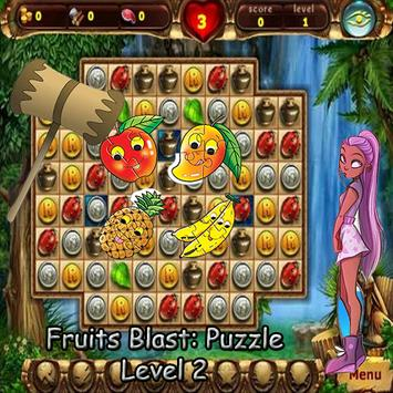 Fruits Blast:Puzzle screenshot 2